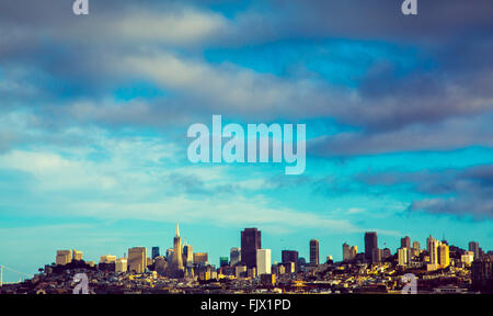 San Fransisco Skyline - Stock Image
