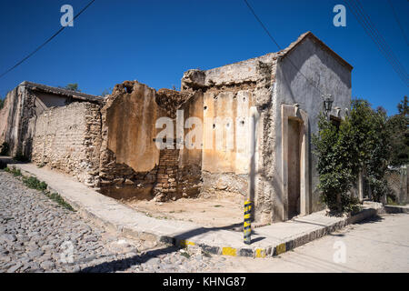 mineral de pozos abandoned mining town mexico - Stock Image