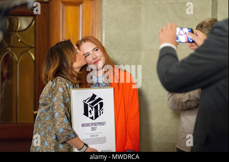 Stockholm, Sweden, June 1, 2018.  Swedish Government´s Music Export Prize This year's winner - Noonie Bao Credit: Barbro Bergfeldt/Alamy Live News - Stock Image