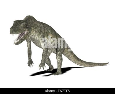 Dinosaurier Postosuchus / dinosaur Postosuchus - Stock Image