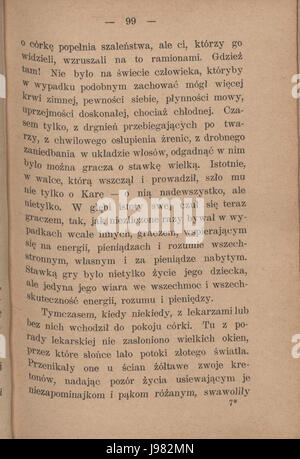 PL Eliza Orzeszkowa Argonauci tom II 103 - Stock Image