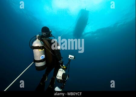 Scuba diver - Stock Image