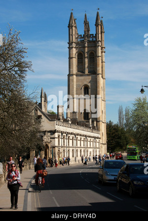 Magdalen College, Oxford, Oxfordshire, UK. - Stock Image