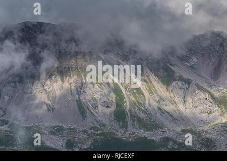 Europe, Italy, Alps, Dolomites, Mountains, Col Margherita Park - Stock Image