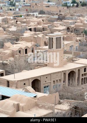 Meybod old houses, Yazd province, Iran - Stock Image