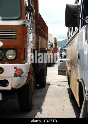 Traffic Jam - Stock Image