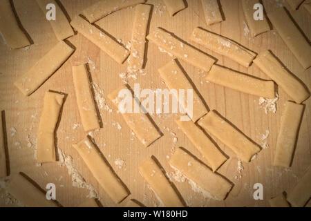 Italy Abruzzo Pappicci pasta - Stock Image