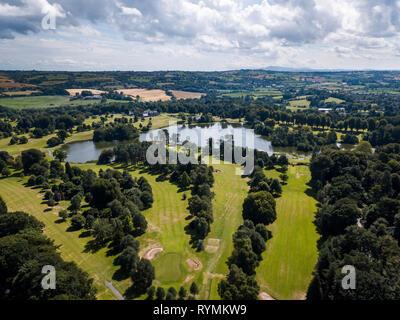 Malone Golf Club, Ballydrain Belfast Aerial - Stock Image