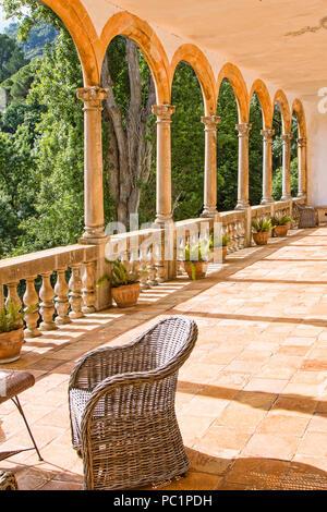 Sa granja, municipio de Esporlas,Mallorca - Stock Image