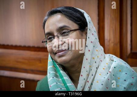Minister of Education of Bangladesh Dr. Dipu Moni - Stock Image