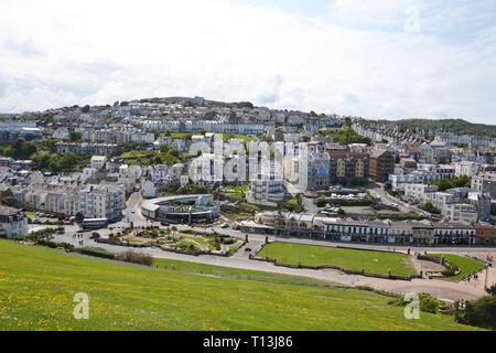 View of Ilfracombe, Devon, UK - Stock Image