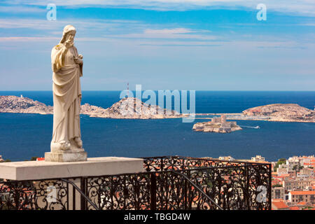 Chateau d If, Marseille, France - Stock Image