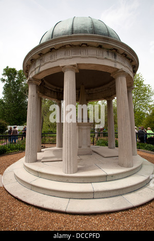 Tomb of President Andrew Jackson at the Hermitage in Nashville Tennessee USA - Stock Image