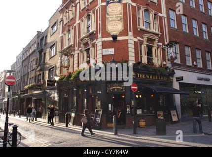 The White Lion Pub Covent Garden London - Stock Image