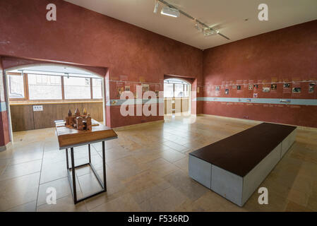 Interior of the museum in Cluny, France, Europe. - Stock Image