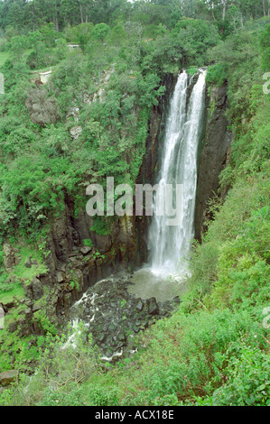 Rainbow Falls, Near the Equator, Nanyuki, Kenya, East Africa - Stock Image