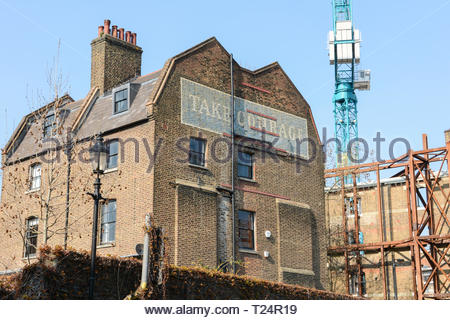 The 'Take Courage' building, Redcross Way, London SE1, UK - Stock Image