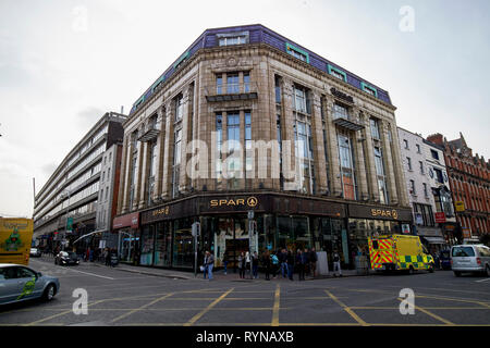 Former burtons store on Dame St Dublin Republic of Ireland Europe - Stock Image