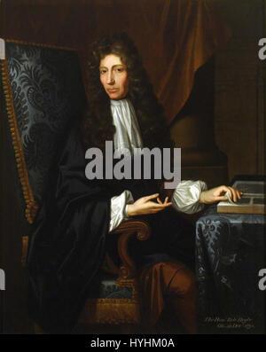 The Shannon Portrait of the Hon Robert Boyle - Stock Image
