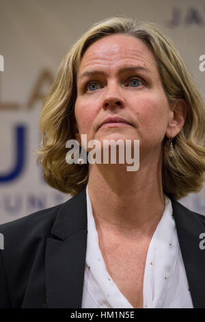 New York, USA. 30th Jan, 2017. Nassau County Legislator Laura Curran (D-Baldwin), 48, candidate for Nassau County - Stock Image