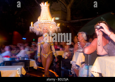 Cuba Havana Dancer at Tropicana nightclub Photo CUBA0504 Photo copyright Christopher P Baker - Stock Image
