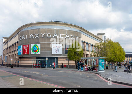 Galaxy is a shopping and entertainment mall in Luton, UK - Stock Image
