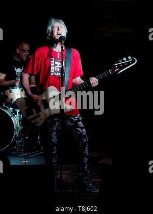 Martin Turner Bass player - Stock Image