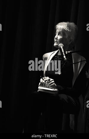 Peggy Seeger in 2019 - Stock Image