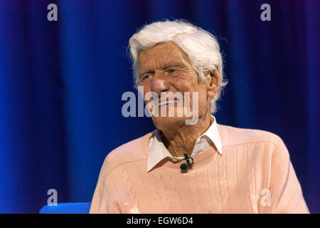 Walsall, West Midlands, UK. 2 March 2015. Veteran broadcaster and dj Pete Murray at the recording of the first 'The - Stock Image