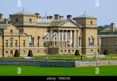 holkham hall, norfolk, england - Stock Image