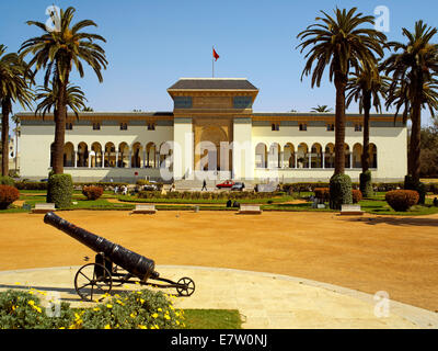 The Palais du Justice Law courts in Casablanca - Stock Image
