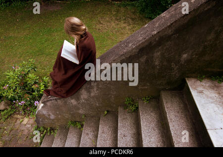 child,reading,childhood - Stock Image