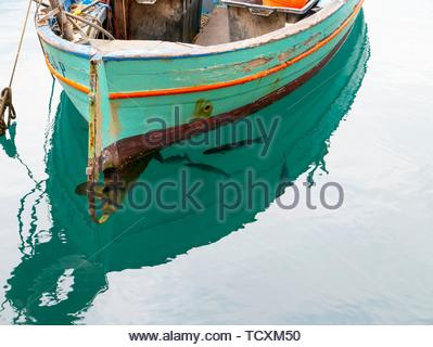 Fishing boat, Italy. - Stock Image