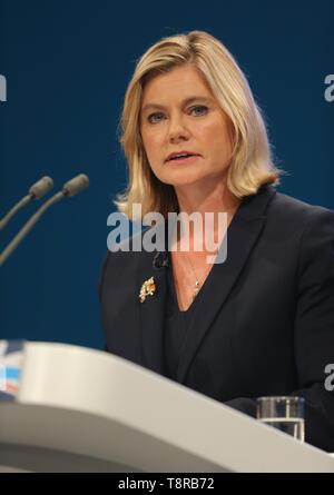 JUSTINE GREENING MP, 2017 - Stock Image