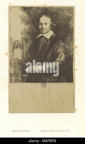 Jean Antonides Van der Linden by Rembrandt - Stock Image