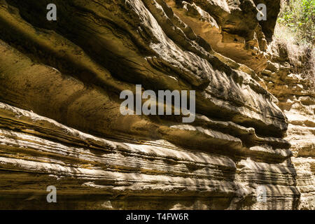 Ol Njorowa gorge, Hells Gate National Park, Kenya - Stock Image