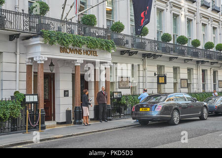 browns hotel london - Stock Image