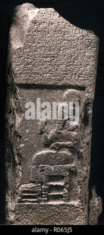 6392. Rab Shaqeh stela - Stock Image