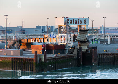 Port of Calais, France, Europe - Stock Image