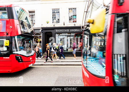 London buses, London red buses, red london buses, london bus, london red bus, red buses, London transport, London - Stock Image