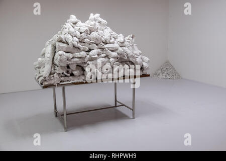 bangkok art biennale installation - Stock Image