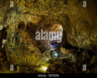 Steps In Cave - Stock Image