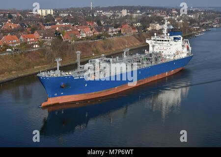 LPG Tanker Yara Sela - Stock Image