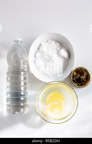 Natural cleaning products. - Stock Image