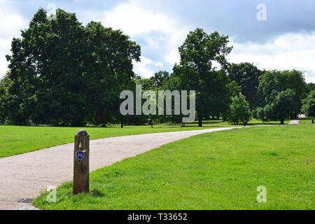 Christchurch Park, Ipswich, Suffolk, UK - Stock Image