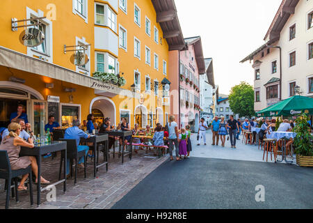 JIMMY'S BAR AND CAFE, HINTERSTADT DISTRICT, OLD TOWN, KITZBUHEL IN TIROL, TYROL, AUSTRIA - Stock Image