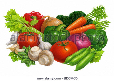 Vegetable Group - Stock Image