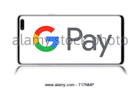 Google Pay logo - Stock Image