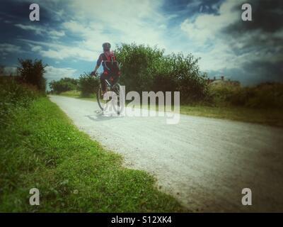 Cyclist - Stock Image