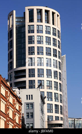 Eagle House Luxury Flats City Road Shoreditch London - Stock Image